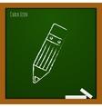 pencil icon Eps10 vector image vector image