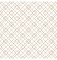 seamless japanese pattern shoji kumiko in brown vector image vector image