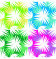 seamless pattern leaves silhouettes vector image vector image