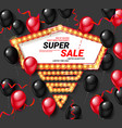 super sale vector image