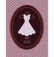 vintage fashion background vector image
