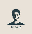 face screaming in fear screaming in fear emoji vector image