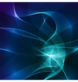 Abstract blue and violet lights background vector image vector image