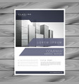modern business brochure design template design vector image vector image