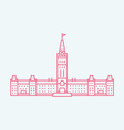 Ottawa vector image vector image