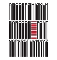 barcode typeface font