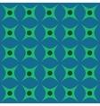 Circle and rhombus seamless pattern vector image vector image