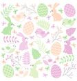 Easter Time Set vector image vector image