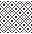 geometric black and white minimalistic wavy vector image vector image