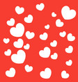 heart background valentines day vector image