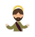 Joseph icon Merry Christmas design vector image vector image