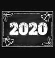 new year 2020 vector image vector image