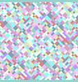 seamless colorful diagonal geometric pattern vector image vector image