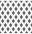 seamless geometric rhombuses pattern vector image vector image