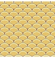 Seamless retro background in modern ikat pattern vector image