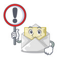 with sign opened and closed envelopes shaped vector image