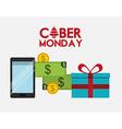 ciber monday deals design vector image vector image