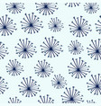 doodle seamless pattern with dandelions vector image