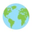 Globe earth icon vector image vector image