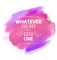 inspirational quote background 1903 vector image vector image