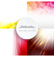 minimal covers set trendy multicolored modern vector image vector image