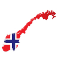 Norway vector image