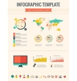 Technology Infographic Elements vector image vector image
