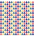 Triangles seamless pattern Ethnic design vector image