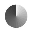 aperture grey vector image