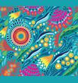 australian floral decorative seamless pattern