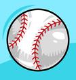 Baseball cartoon design vector image vector image