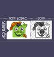 black pig taurus zodiac vector image vector image