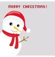 Christmas greeting card42 vector image vector image