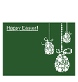 Colored Easter Background vector image vector image