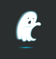 Cute Ghost Single 6 vector image vector image