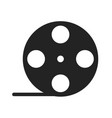 film roll glyph icon vector image