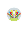 Football cup 2020 sports trophy concept logo