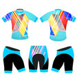 sports graphics colors t-shirt vector image vector image