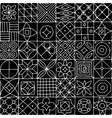 abstract geometric seamless pattern for your vector image vector image