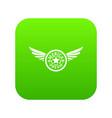 american dream icon green vector image