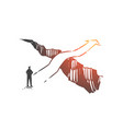 business opportunity solution vision concept vector image vector image