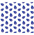 ceramic pattern with leaves vector image vector image