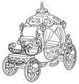 Cinderella Fairy Tale Pumpkin Carriage vector image vector image