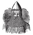 edward the black prince vintage vector image vector image
