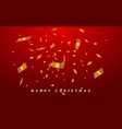 festive christmas or new year background chinese vector image vector image