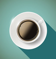 Icon coffee Stock vector image vector image