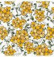 modern botanical background hand drawn folk vector image