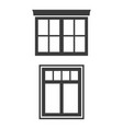 window icon on white background vector image vector image