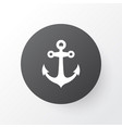 anchor icon symbol premium quality isolated boat vector image vector image