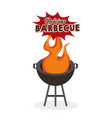 barbecue celebration concept icons vector image vector image